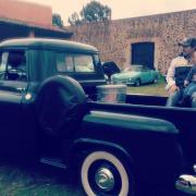 Autos clásicos en la Hacienda Tochatlaco