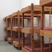 Dormitorio tipo Hostal, ideal para pasar una noche en Hacienda Tochatlaco