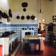 Cocina tradicional Méxicana, en el interior de la casa principal de Hacienda Tochatlaco