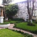 Patio interior de la Hacienda San Antonio Tochatlaco, ubicada en Zempoala Hidalgo