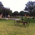 Rastra marca McCormick utilizada en la Hacienda San Antonio Tochatlaco en Zempoala, Hidalgo