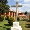 Atrio de la capilla de la Hacienda San Antonio Tochatlaco en Zempoala Hidalgo