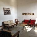 Estancia de los dormitorios, donde podras pasar un rato muy agradable en la Hacienda San Antonio Tochatlaco en Zempoala Hidalgo gracias a su chimenea