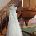Vestido de novia en la capilla de la Hacienda San Antonio Tochatlaco