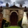 Cesión fotográfica dentro de la Hacienda San Antonio Tochatlaco