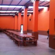 Comedor del Hostal Hacienda San Antonio Tochatlaco